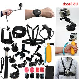 Auction Camera Accessories Kit for Gopro Go pro Hero 8 7 Bla