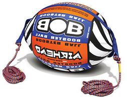 AIRHEAD Bob Tow Rope w Inflatable Buoy Booster Ball Towables