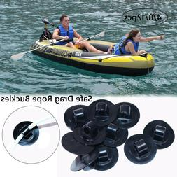 Inflatable Boat Accessories Rowing Boats Buttons Safe Hooks