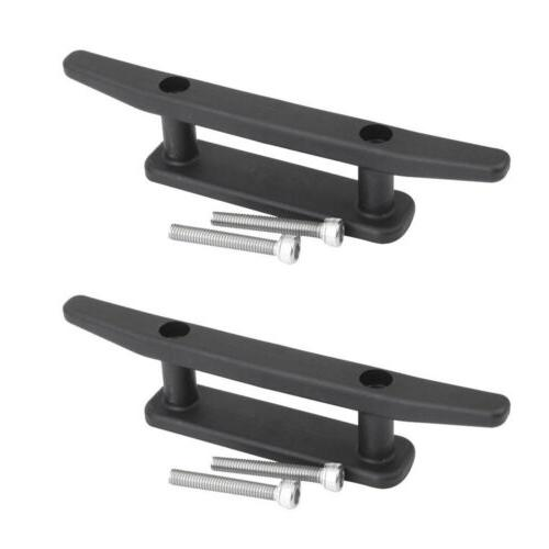 marine mooring deck mount anchor cleat W//screws for kayak boat accessories/_BE