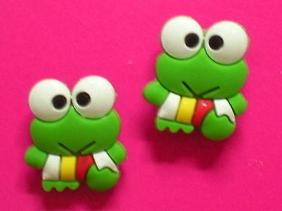Garden Hole Clog Charm Button Wristband Accessories Frog