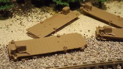 N-Scale 6 Unfinished Boat 1:160 Model Train Detail