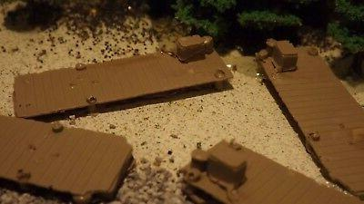 n scale 6 unfinished fishing boat docks