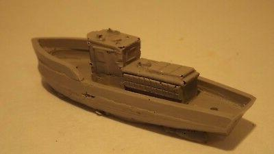 N-Scale Unfinished Waterline Boat Detail Accessories
